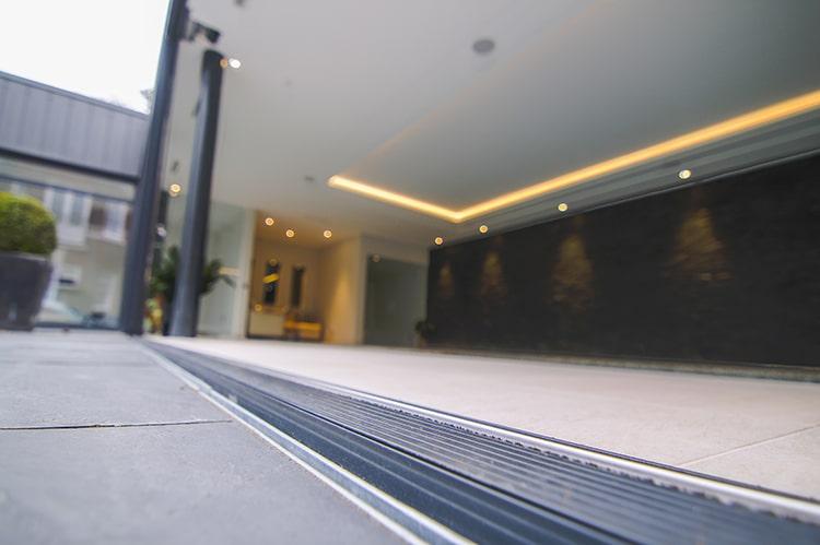 sliding patio door track
