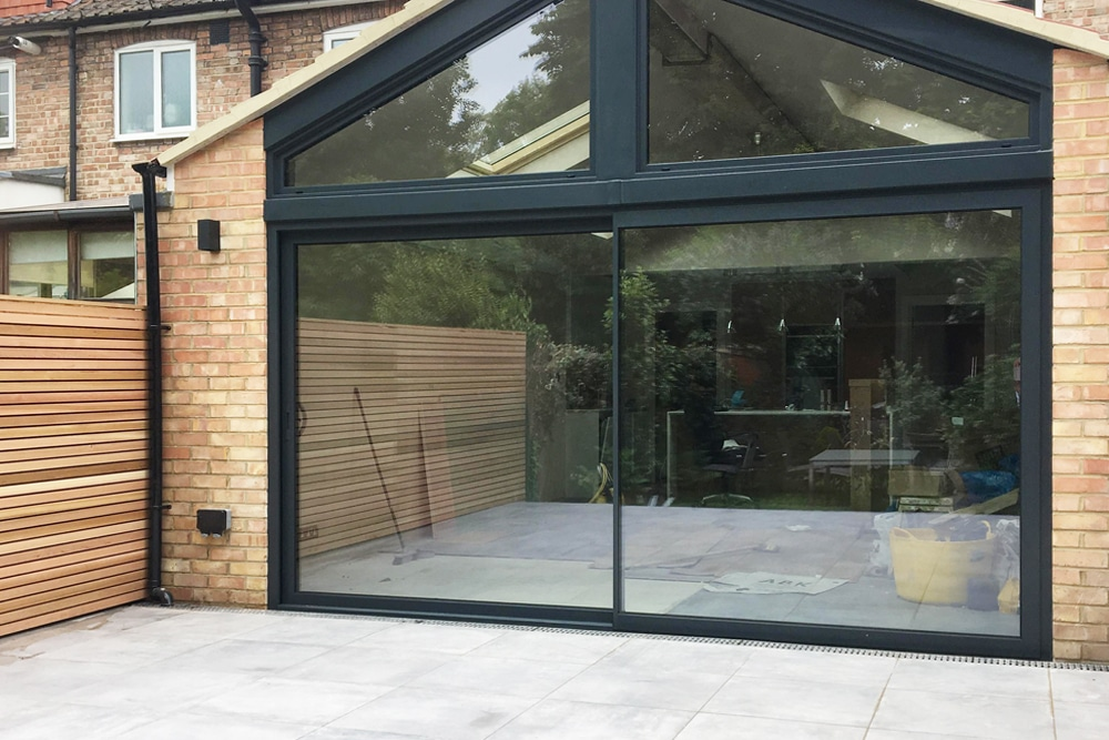 aluminium glass sliding door