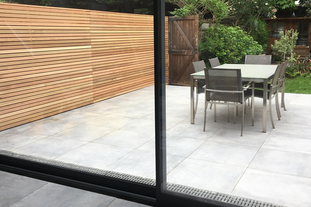 sliding glass patio door