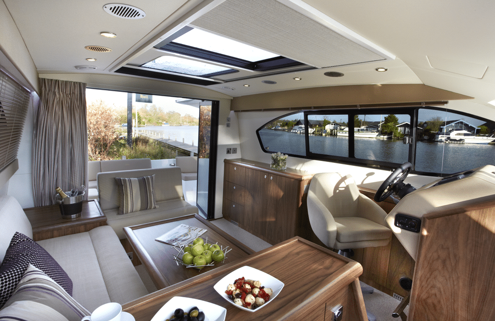 'Probably the cleverest designed doors ever seen on a boat'