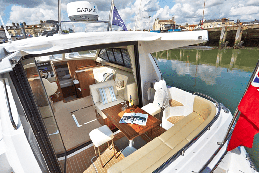 sliding doors on boat