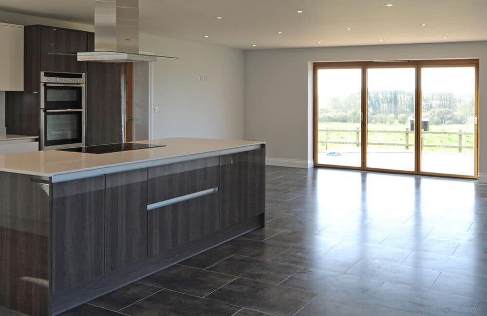 Suffolk new-build home gets SF75h doors