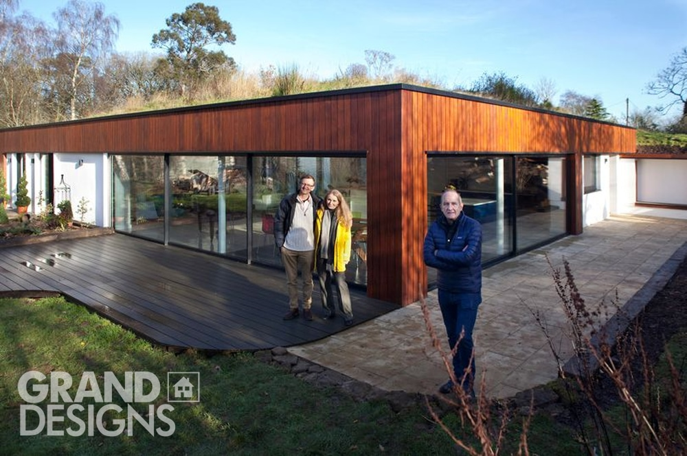 Grand Designs TV project - picture used courtesy of Channel 4
