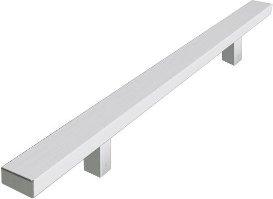 Rectangular T-Bar Handle