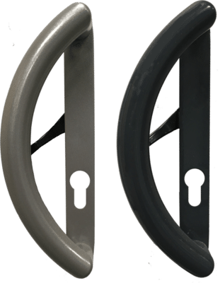 Colour matched D-handle