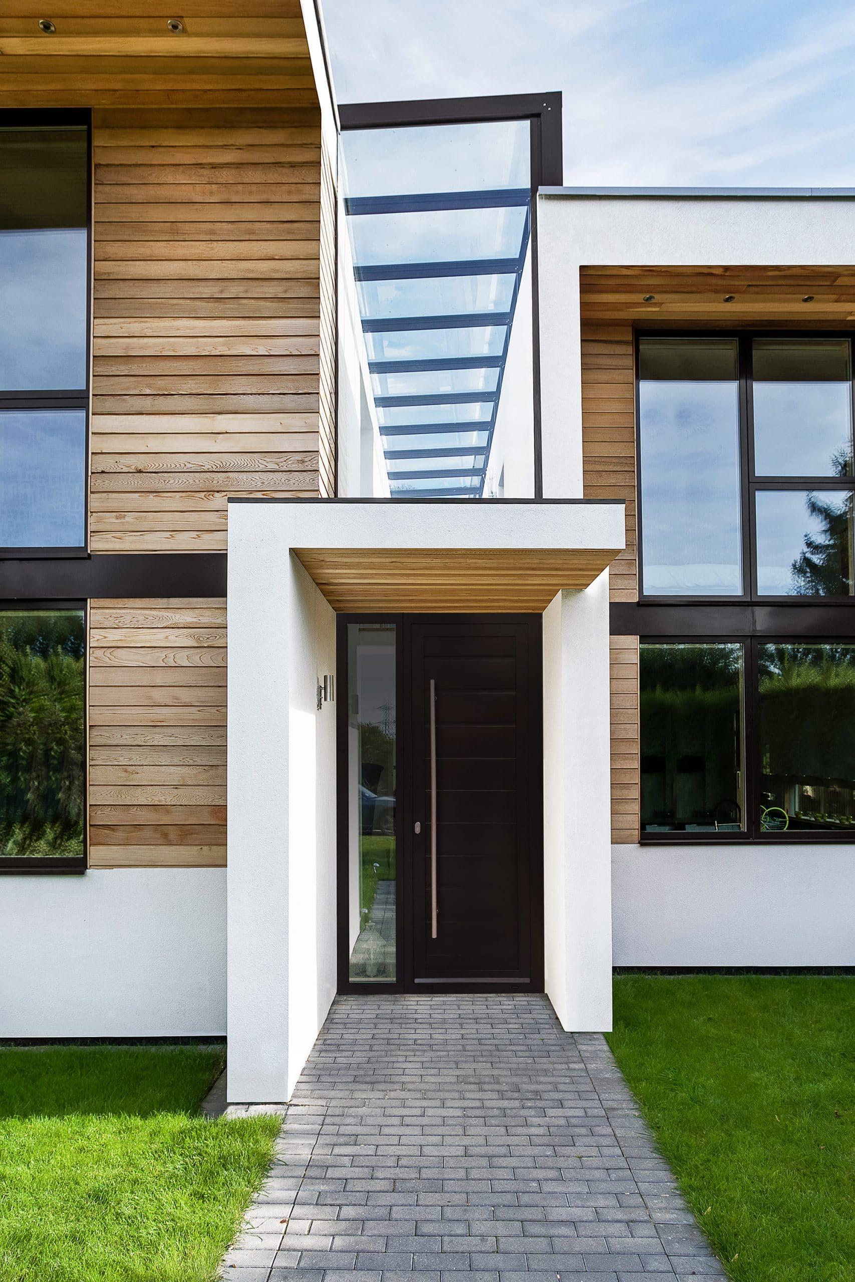 Aluminium Front Doors Aluminium Entrance Doors Sunflex Uk