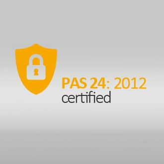 Meets and exceeds the requirements of PAS 24:2012 to achieve Building Regulations Approved Document Q security standard