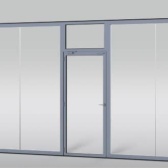 Optional separate pass door available, as a single door or French-style doors