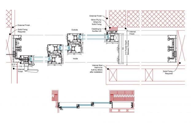 Pocket Slider Detail | Triple Track