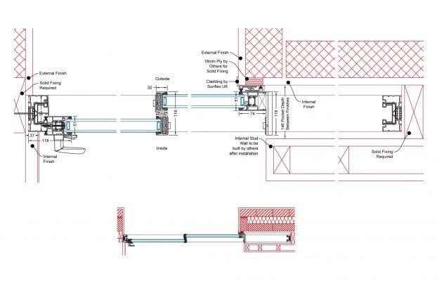 Pocket Slider Detail | Twin Track