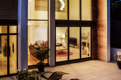 Timber Clad Bifold Doors