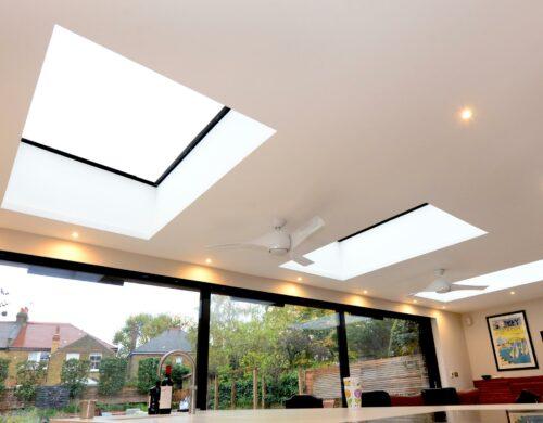 flat rooflight