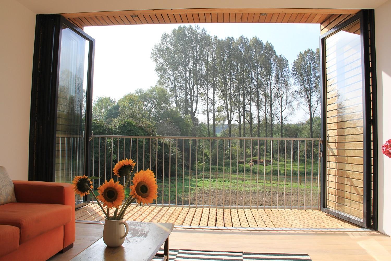 sf75 bifold door (patio doors alternative)