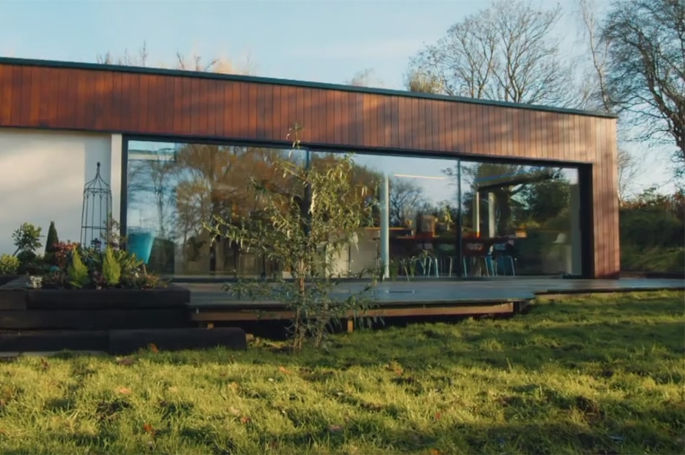 Bletchley eco-home with SVG30 sliding doors